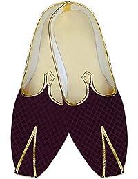 INMONARCH Boda Vino Hombres Moda Calzado MJ015160