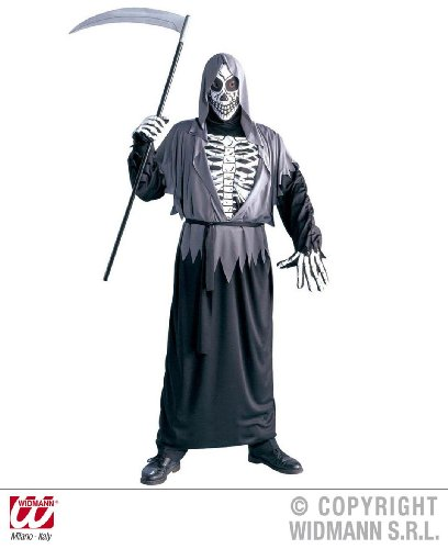 KOSTÜM - GRIM REAPER - Größe 56 (Halloween Kostüm Herr Grim)