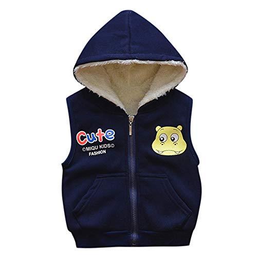 Babykleidung Neugeborene Winter,Covermason Kind Säugling Baby Mädchen Jungen Cartoon Jacken warm Weste Kleider Mit Kapuze Mantel