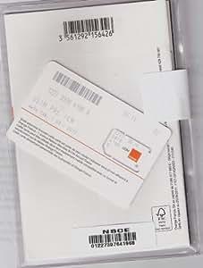 Carte SIM prépayée Orange
