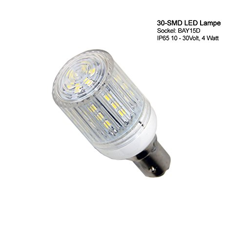30-smd-led-bay15d-lamp-ip-with-plastic-cover-ip65-bulb-with-30-smd-leds-white-4-watt-for-marine-navi