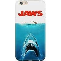 Cover Custodia Protettiva Jaws Lo Squalo Film Cult Horror Shark Mare California Beach Spielberg Iphone 4/4S/5/5S/5SE/5C/6/6S/6plus/6s plus Samsung S3/S3neo/S4/S4mini/S5/S5mini/S6/note