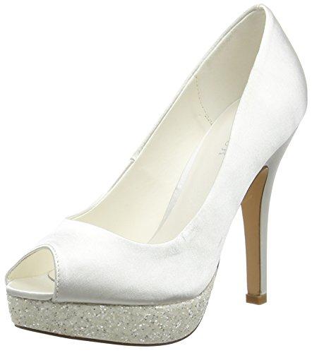 Menbur Aitana, Femme open-toe Pompes Off White (Off White 04)