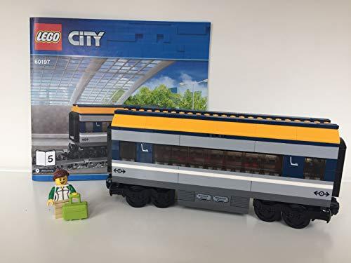Lego ® City ? Eisenbahn Waggon Personenwagen ( aus Personenzug 60197)
