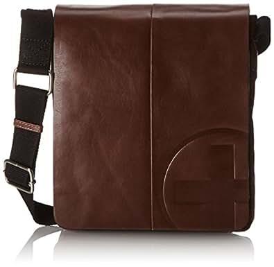 Strellson  Messenger SV Cross-Body Bag Mens  Brown Braun (dark brown 702) Size: 23x26x4 cm (H x W x D) (23x26x4 cm (B x H x T) EU)