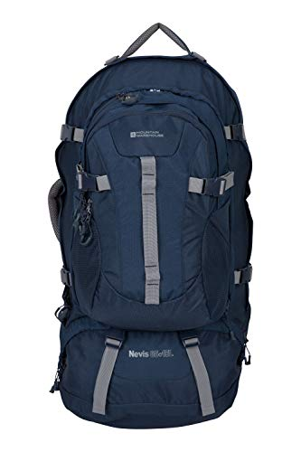 82bdce5fd2798f Mountain Warehouse Nevis Extreme Rucksack - 55 + 15L Backpack Navy