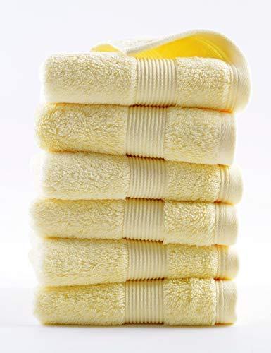 Material: algodón egipcio de grapado largo es el mejor algodón del mundo, y el terciopelo de algodón es muy largo (longitud del padre supera 31,8 mm, hasta 60 - 70 mm) con brillo de seda de morera, fuerte pero flexible en textura, buen efecto de teñi...