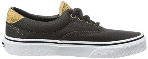 Unisex Sneaker von Vans–Era 59CA Black (Cork Twill - Dark Shadow)