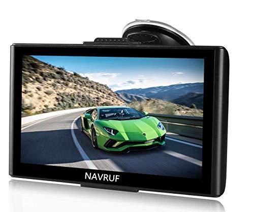 Gps navigatore satellitare auto touch screen, avviso traffico vocale, limite di velocit promemoria sistema di con aggiornamenti gratuiti a vita della europa mappa