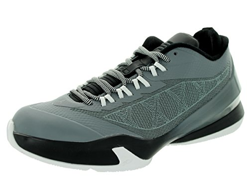 Nike CP3 VIII BG Black Red Youths Trainers Cool Grey/Black/White