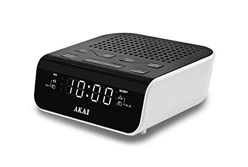 Radio despertador con USB de cargaAkai AR160U