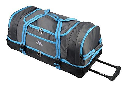 Trespass Galaxy Rolling - Borsa da viaggio/sportiva, con ruote blu Blue 80 cm