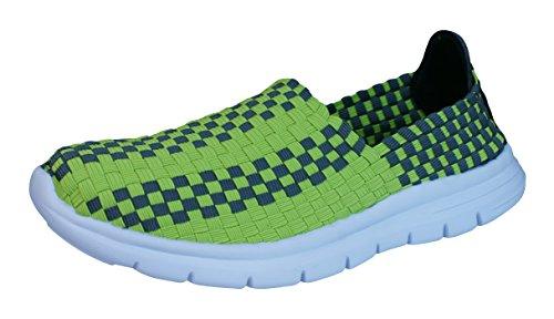 Air Tech Pessoa femmes chaussures de sport / baskets green