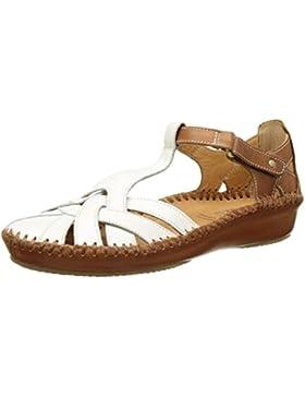 Pikolinos Damen P. Vallarta 655_v17 Geschlossene Sandalen mit Keilabsatz