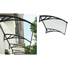 1pz porche con soporte de resina negra (100x 120cm