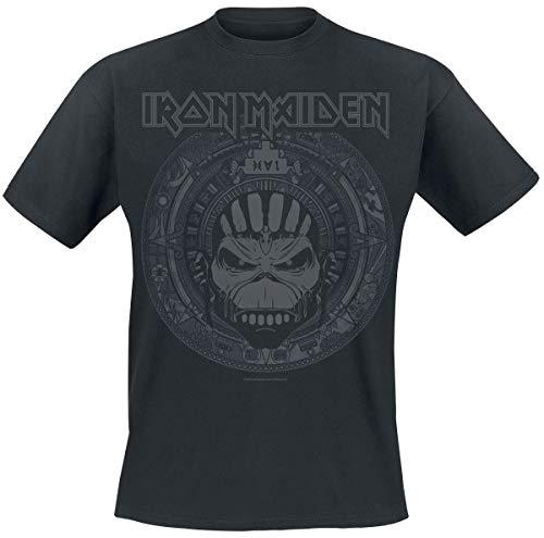Iron Maiden Book Of Souls Skull Camiseta Negro XL