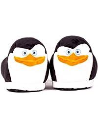 Sleeper'z – Zapatillas de casa Skipper el pingüino originales - Madagascar - Adultos y Niños - Hombre y Mujer