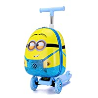 Misha Kids Scooter Luggage Minion