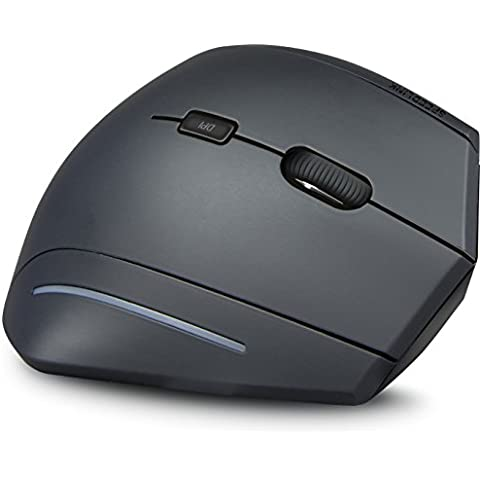 Speedlink SL630005BK - Ratón vertical inalámbrico, ergonómico, color negro