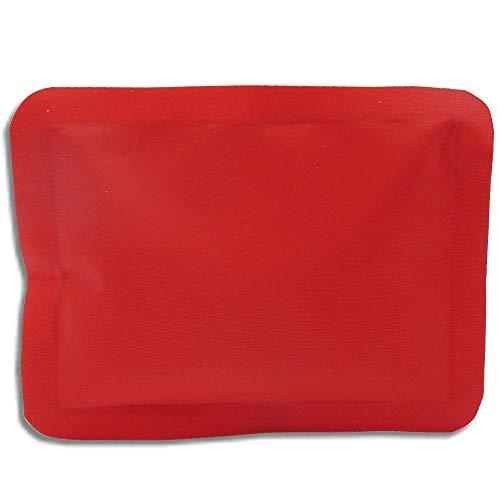 BerryKing Cangoroo Wärme/Kühl Unterhosen inkl. Fach für Kühl - Wärmepads Schmerzlinderung Periode Blasen-Entzündung Kaiserschnitt (Wärmepad, rot)
