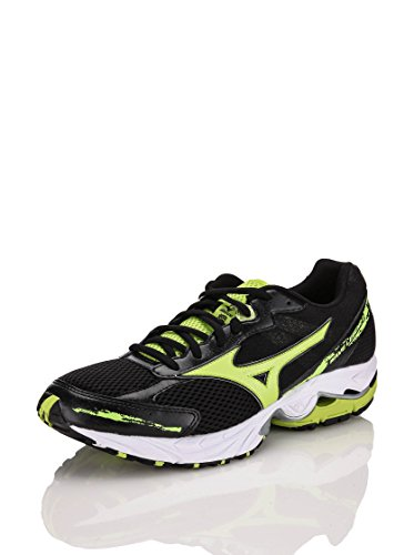 MIZUNO Wave Legend 2 Scarpa da Running Uomo Nero/Lime