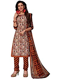 20720e66b7 Amazon.in: Cotton - Dress Material / Ethnic Wear: Clothing & Accessories