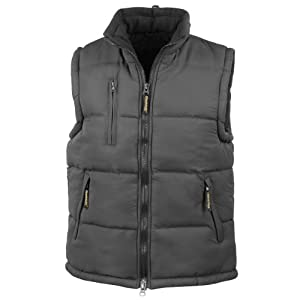 41hOhoYmrdL. SS300  - Result Mens Ultra Padded Bodywarmer Water Repellent Windproof Jacket