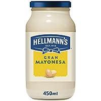 Hellmann's Mayonesa, 450 ml - Pack de 4