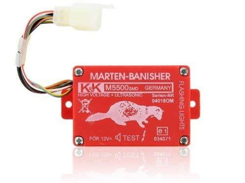 Marderschutz und Marderabwehr-Gerät M5500-SMD mit 6 Ultraschall- und Hochspannungs Lautsprechern