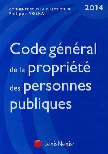 Code gnral de la proprit des personnes publiques 2014