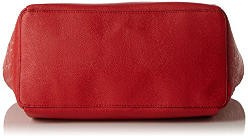 Calvin Klein Jeans Mish4 Large Tote, Sacs portés main Rouge - Rot (LIPSTICK RED 635)