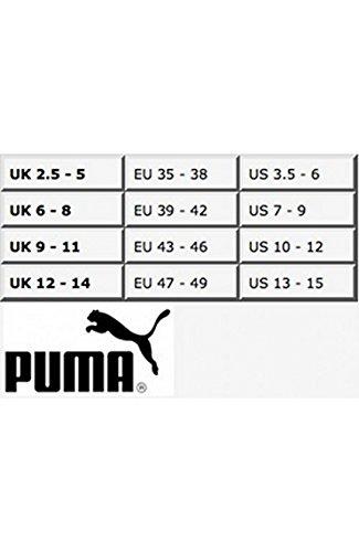 Puma - Calzini, Uomo 6 Paar - Grey/White/Black