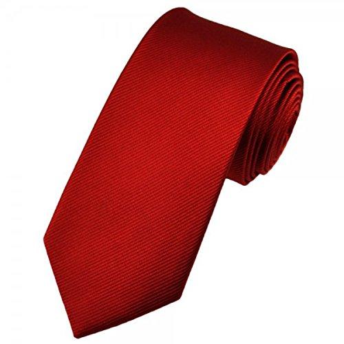 Pietro Baldini Krawatte uni rot/bordeaux mit edler Struktur,100% Seide, handgefertigt,sehr edel und elegant. Wunderschöne Struktur. Design:D30447-M16