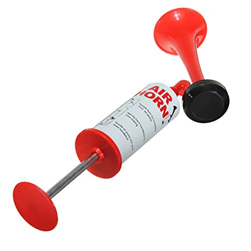 MagiDeal Air Horn Druckluftfanfare Stadionhupe Signalhorn für Party, Auto, Camping, Sport, Notfall