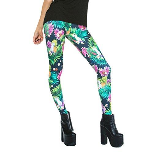 fleur-coloree-arbustes-mince-legging-pantacourts-minces-collants-pour-filles-de-dame