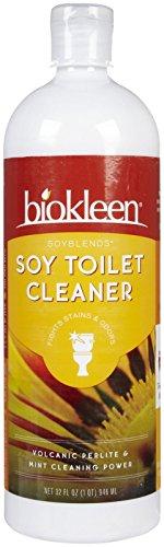 Biokleen 717256000974 Soy Soy M-langes toilettes Scrub-32-Ounce Bottles-Caisse de 12