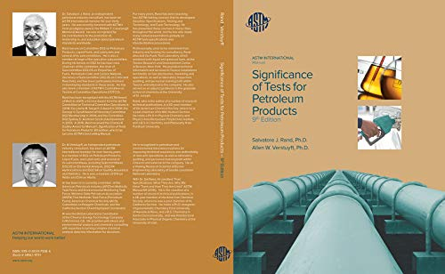 Significance of Tests for Petroleum Products: 9th Edition: MNL1-9TH (English Edition)