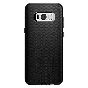 Spigen TPU Anti-Finger Print Liquid Air Case for Samsung Galaxy S8 Plus (Black_571CS21663)