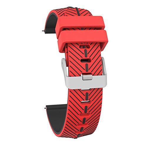 AIHOMЁ Smart Watch Strap Sport Armband Für TicWatch Pro Strap Silikon Zweifarbig