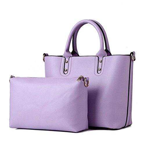 koson-man-damen-2-in-1-sling-vintage-tote-taschen-top-griff-handtasche-violett-lila-kmukhb377