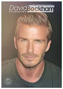 DAVID BECKHAM 2015 LARGE WALL CALENDAR NEW AND SEALED BY RED STAR