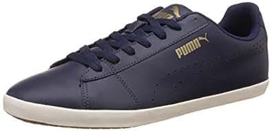 Puma Men's Civilian SL Peacoat-Marshmallow Running Shoes - 10UK/India (44.5EU)