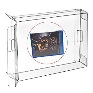 WiCareYo 10 Stücke Clear Box Hülle Schutzhülle CIB Protector für PS VITA Spiele Patrone Box
