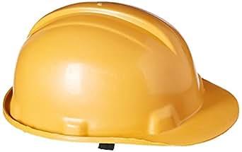 Safari Pro Labour Safety Helmet, Dark Yellow