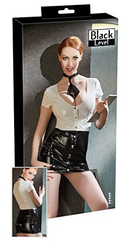 Preisvergleich Produktbild Black Level Vinyl Secretary Kleid, 2x große
