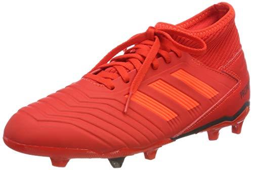 9fb7a8d55 adidas Unisex Kids' Predator 19.3 Fg J Football Boots, Multicolour  (Rojact/Rojsol