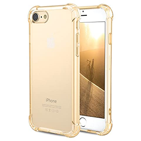 Coque iPhone 7, [Coussin d'air] [4 Coins Shock-Absorption] Pare-chocs Anti-rayures