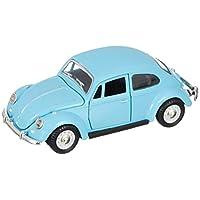 Hobby & Toys Sesli Işıklı Çek-Bırak Beetle Araba, Mavi