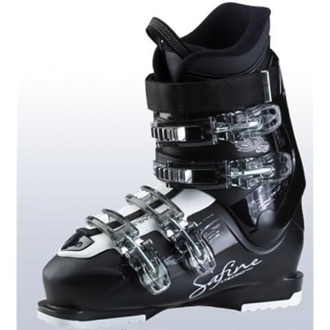 Tecno Pro Safine ST 50 LS - Botas de esquí para mujer, color negro/blanco Talla:25