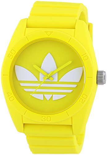 Adidas - ADH6174 - Montre Mixte - Quartz Analogique - Bracelet Plastique Jaune